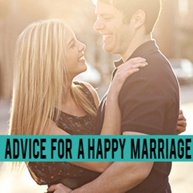 happy marriage advice