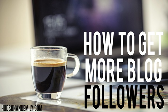 how to get more blog followers