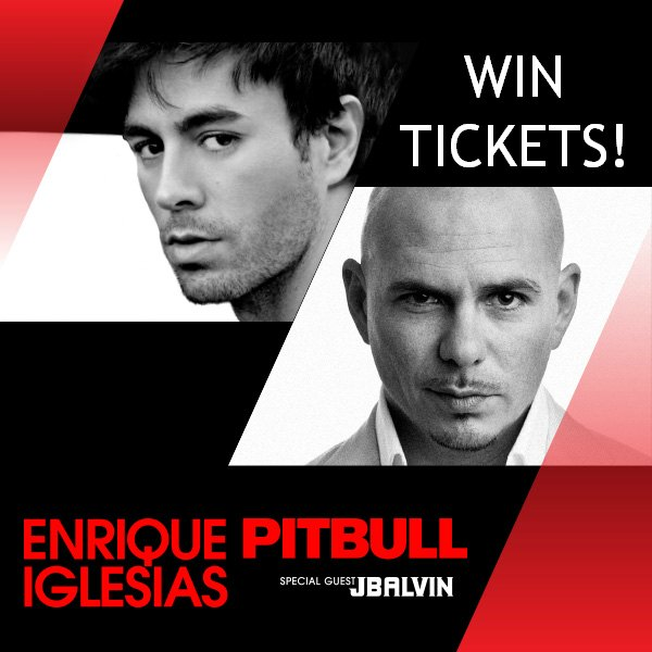 Enrique Iglesias & Pitbull Concert - Win Tickets! - Hudson ...
