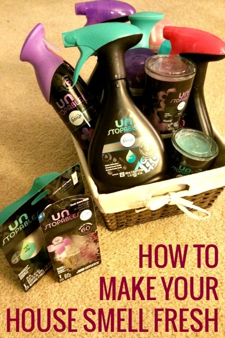 how to keep your house smelling fresh