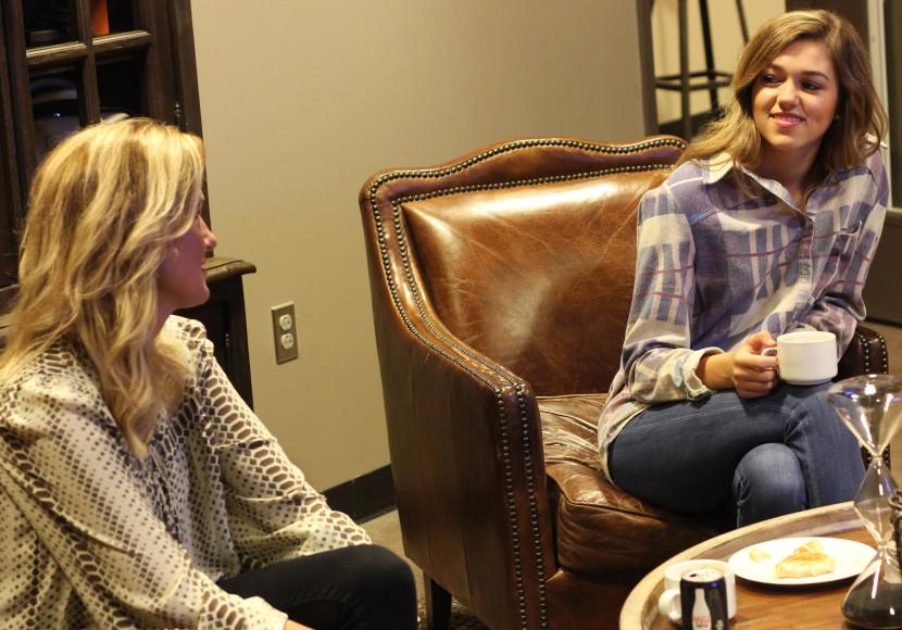 Korie & Sadie Robertson interview