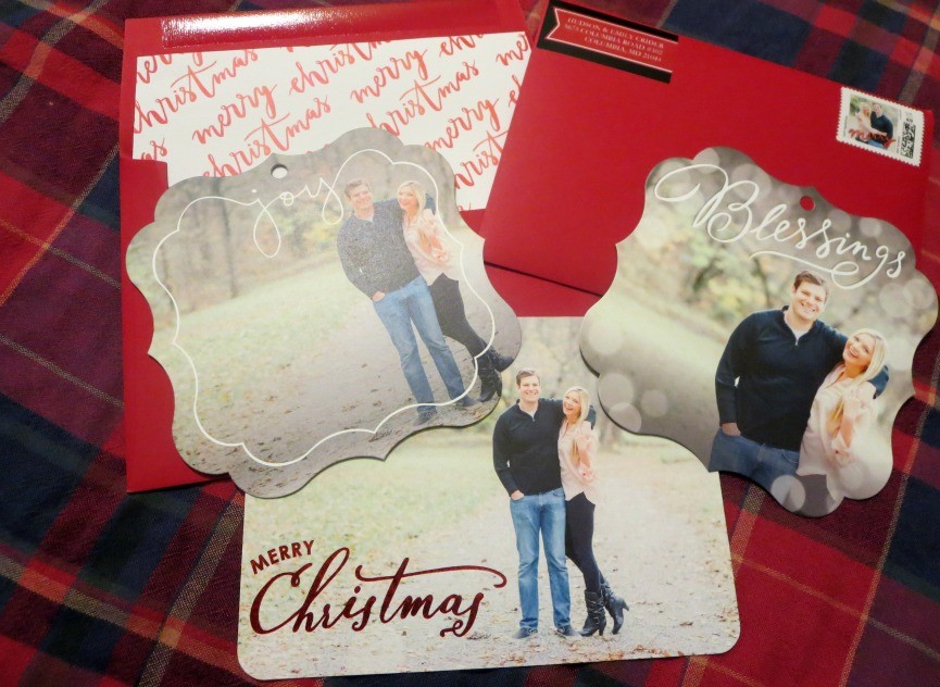 Our Shutterfly Christmas Cards - Hudson and Emily