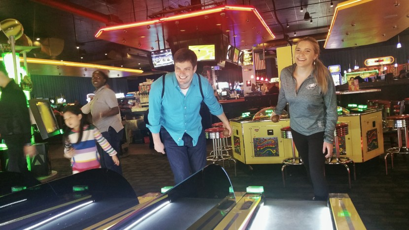 Dave & Buster's date