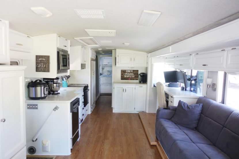 Small Camper Trailer Remodel