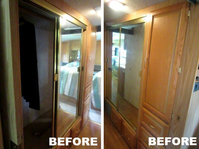 RV renovation before